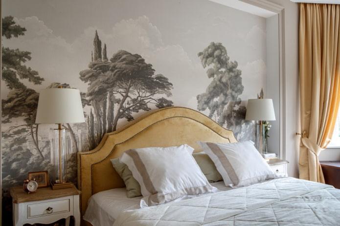 peindre le mur de la chambre