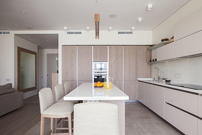 Conception de cuisine minimaliste - photo