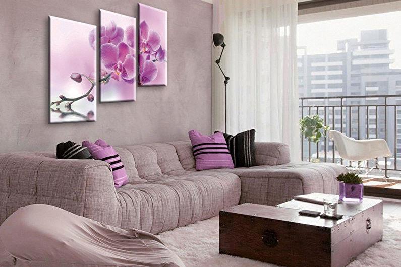 La combinaison de couleurs à l'intérieur du salon - Générateur de palettes