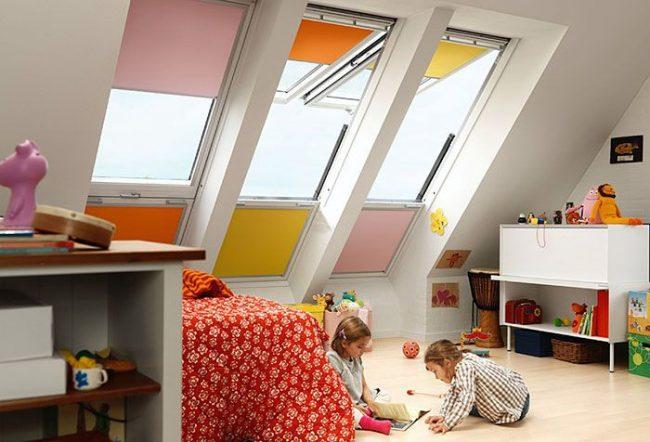 Les volets roulants sont idéaux pour une chambre d'enfant