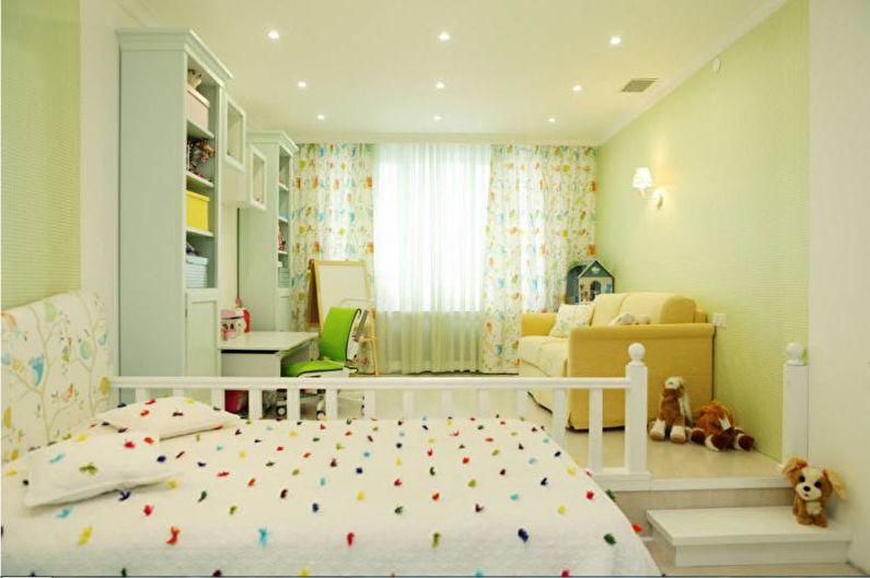 Combinaisons de couleurs à l'intérieur d'une chambre d'enfants - Comment choisir des schémas de couleurs