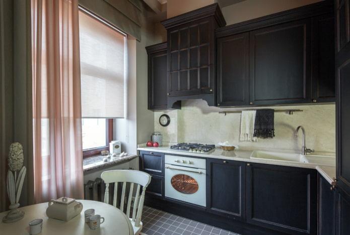 intérieur de cuisine classique