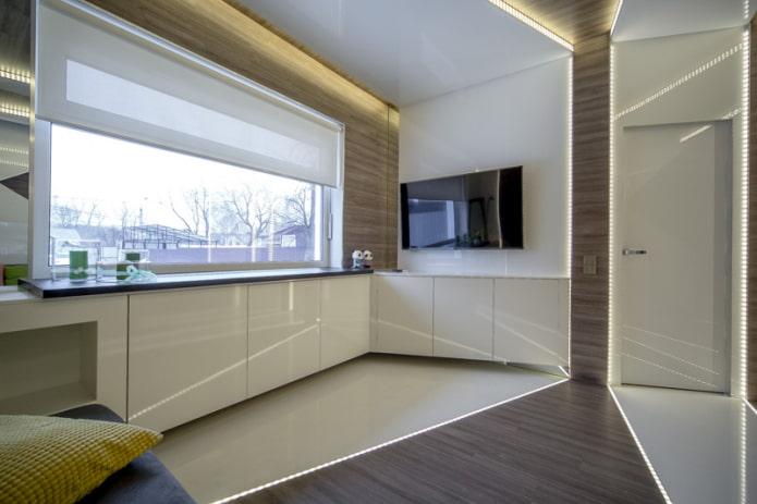 intérieur de cuisine moderne