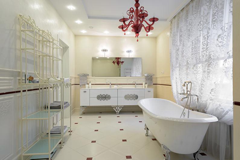 Salle de bain classique - Caractéristiques