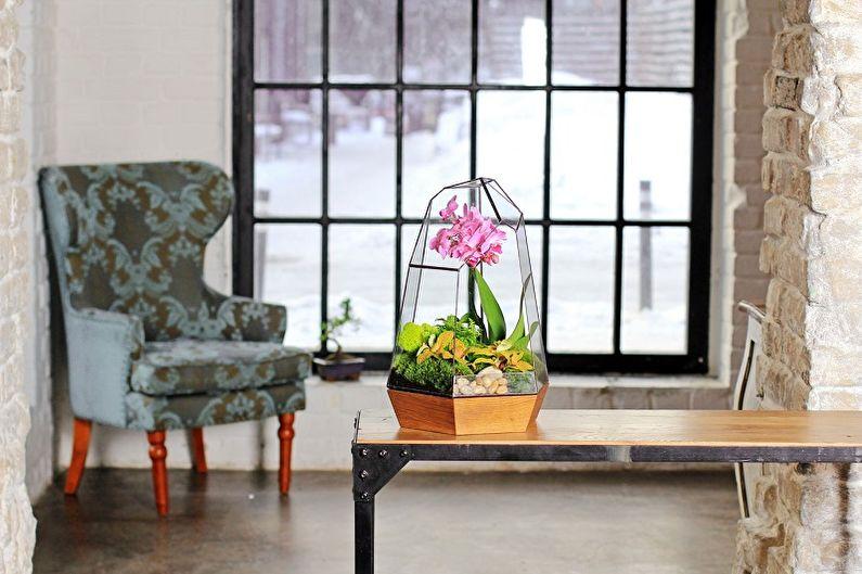 Florarium à faire soi-même - Orchidarium