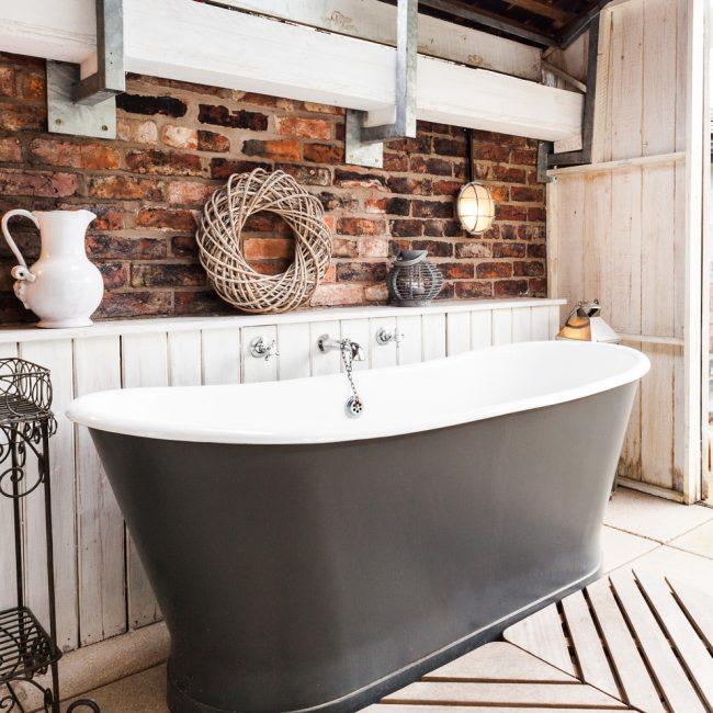 La salle de bain de style provençal mettra en valeur votre personnalité