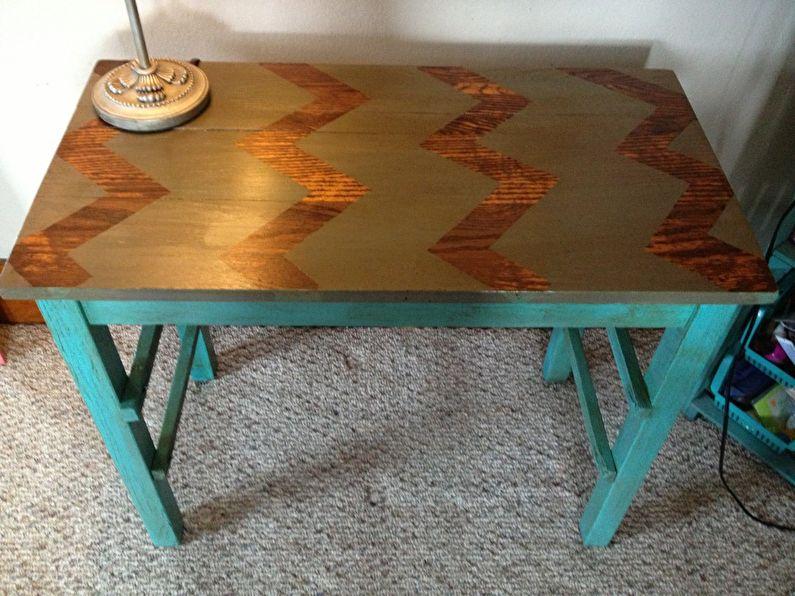 Peinture - DIY déco de table ancienne