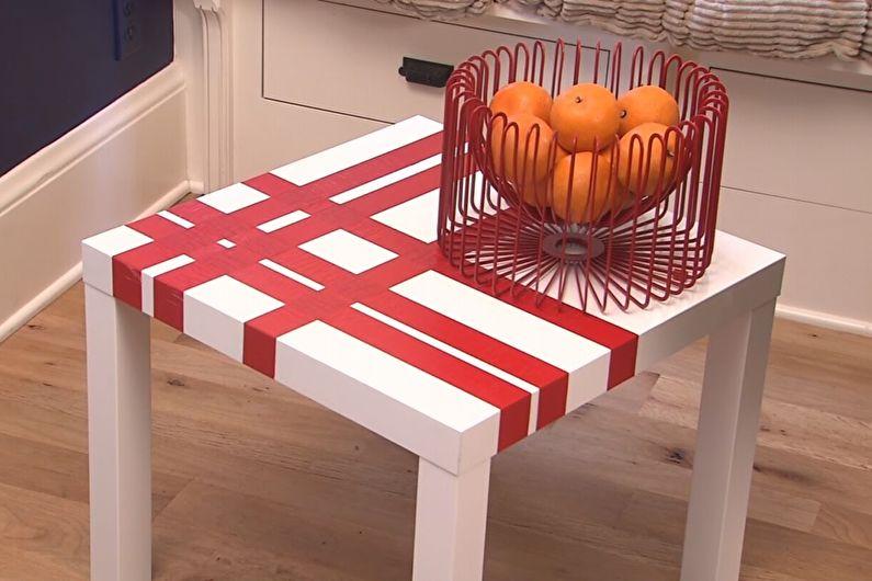 Ruban décoratif - DIY déco de table ancienne