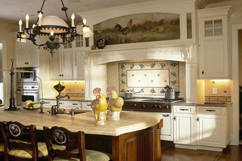 Cuisine 14 m²  style campagnard - Design d'intérieur