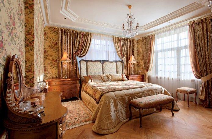 Chambre de style anglais