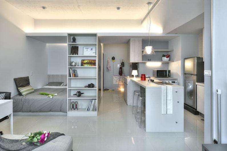 Conception de petit appartement - Textures