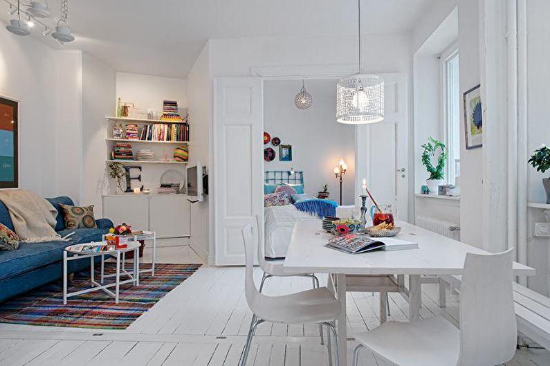 Petit appartement de style scandinave - Design d'intérieur