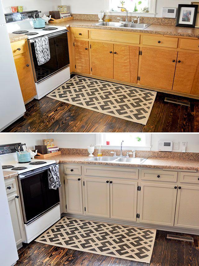 Une coloration simple donnera une cuisine vraiment nouvelle
