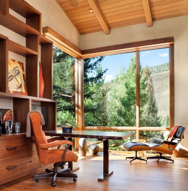 Les fenêtres en bois continuent d'être populaires