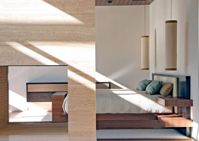 Conception de chambre dans un style moderne