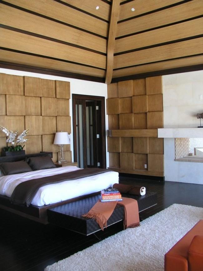 En raison de ses propriétés esthétiques, le bois s'intègre facilement dans n'importe quelle pièce