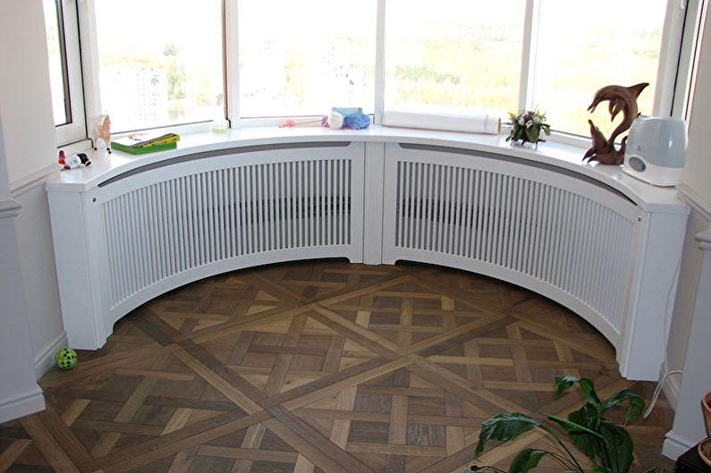 Grilles pour radiateurs - Utilisation prévue