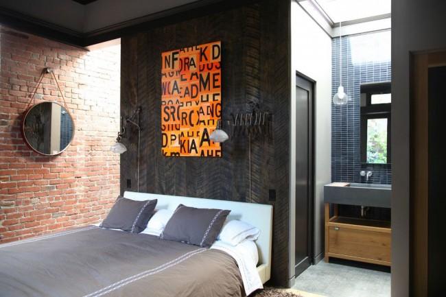 Chambre de style loft pour personnalités courageuses et extraordinaires