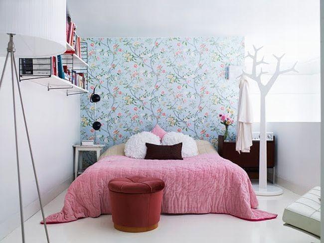 Couleur pastel calme de la chambre