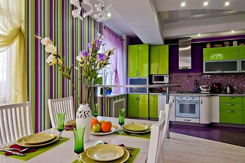 Papier peint pour la cuisine - Ce que vous devez savoir pour choisir un papier peint à motif