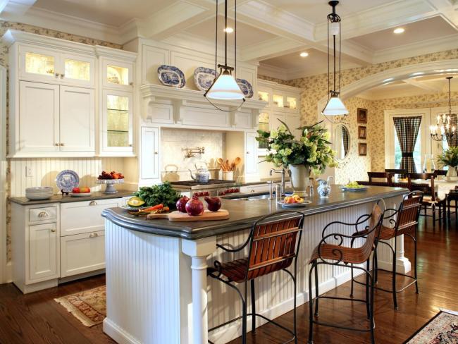 L'éclairage de la cuisine est particulièrement important là où il n'y a pas de fenêtres et de lumière naturelle.