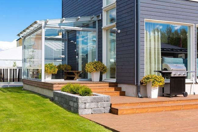 Terrasse et véranda sont depuis longtemps devenus presque synonymes
