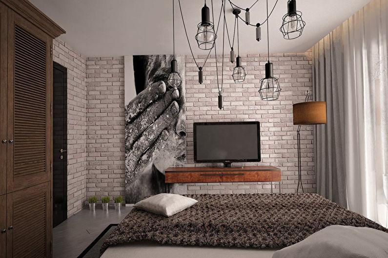 Plafond pour un lustre de vos propres mains - Style Loft