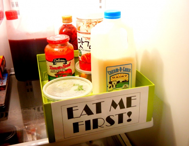 Il est préférable de s'occuper du retrait des produits à l'avance.