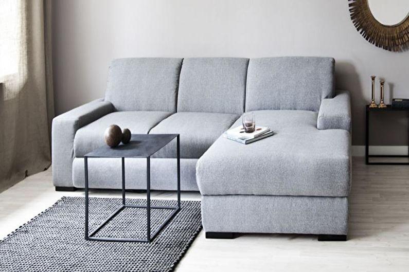 Style minimaliste à l'intérieur - Meubles