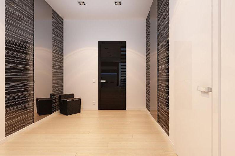 Style minimaliste à l'intérieur - Finition du sol