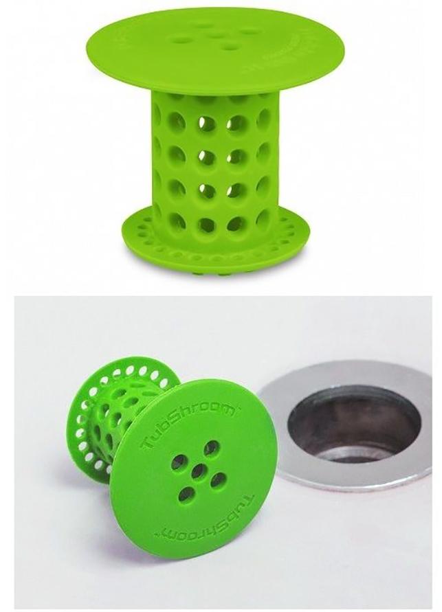 Bouchon en silicone pour ramasser les déchets dans l'évier