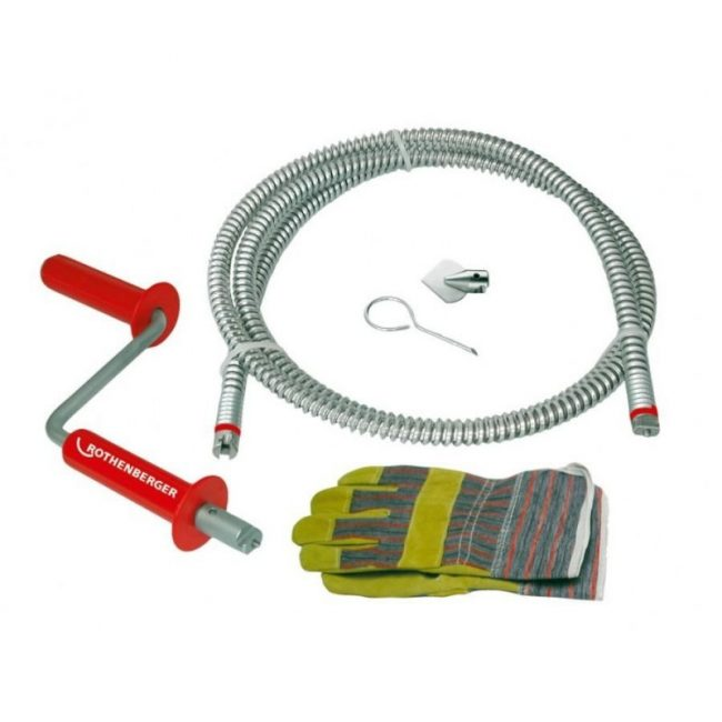 Cet appareil est utilisé pour les blocages sévères des tuyaux métalliques.