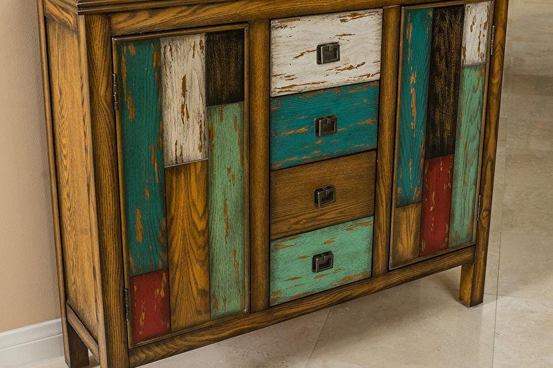 DIY déco d'armoire ancienne - Peinture