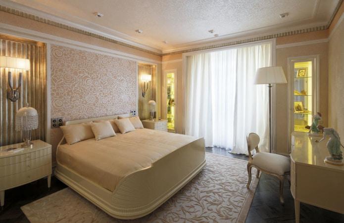 rideaux et tentures en tulle blanc