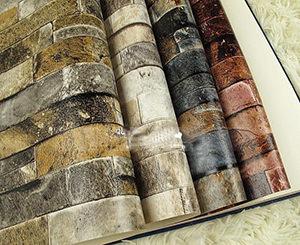 Papier peint sous une pierre