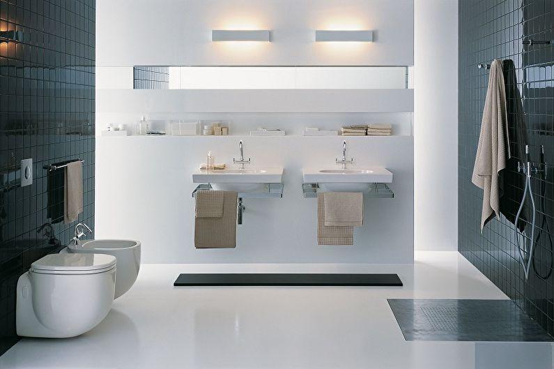 Lavabos de salle de bain suspendus