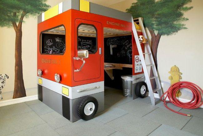 Une solution extraordinaire pour les jeux - une salle de bus