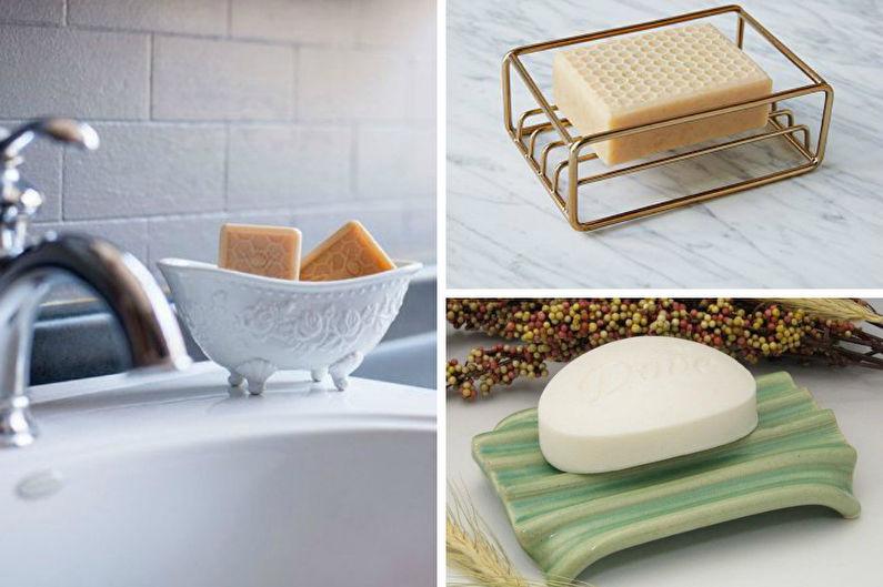 Accessoires de salle de bain - Porte-savon