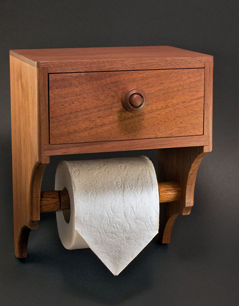 Accessoires de salle de bain - Porte-papier hygiénique