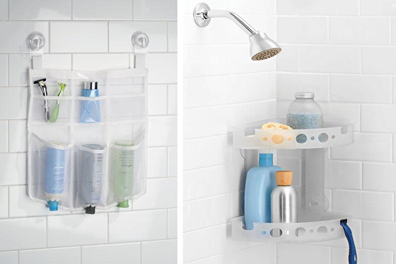 Accessoires de salle de bain - Organisateurs de douche