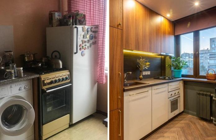 Rénovation de cuisine avant et après : 10 histoires avec de vraies photos