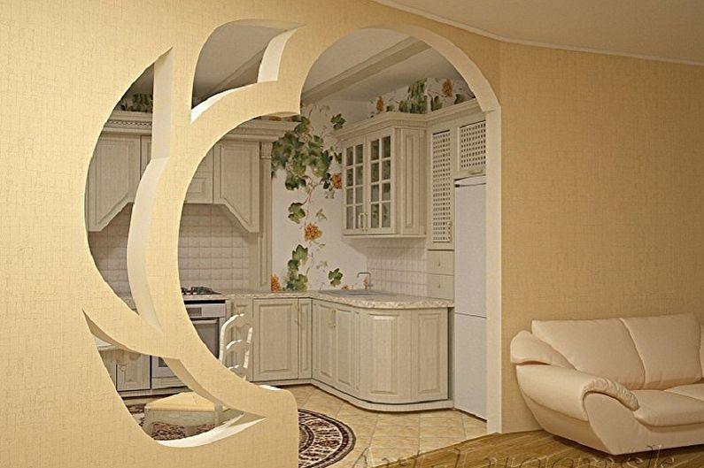 Arches pour cloisons sèches - Avantages des cloisons sèches