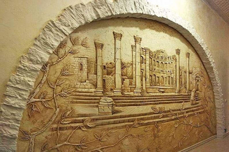 Idées pour décorer des arches de cloisons sèches à l'intérieur - Arches décoratives de cloisons sèches