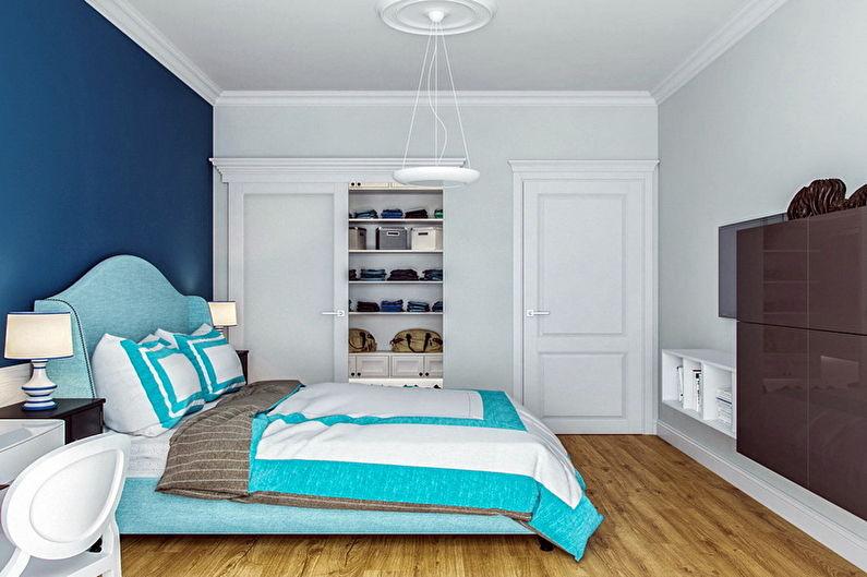 70+ idées de design de chambre turquoise