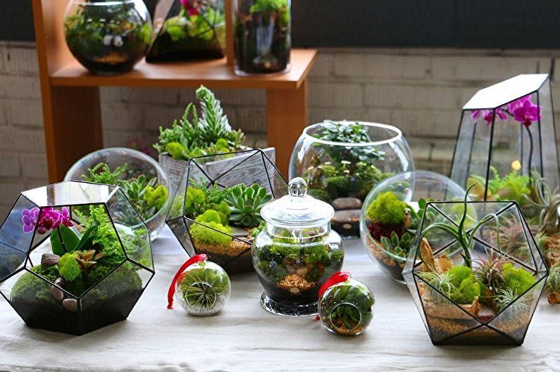 85+ idées de bricolage florarium (photo)