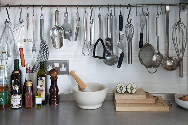 Barres de toit pour la cuisine (90 photos): types, caractéristiques