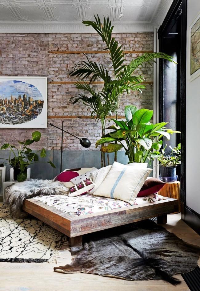 L'utilisation de briques décoratives dans la décoration est une excellente occasion de créer un intérieur intéressant et unique