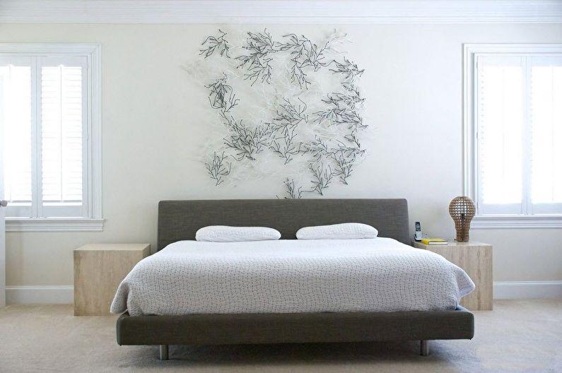 Chambre dans le style du minimalisme (+80 photos)