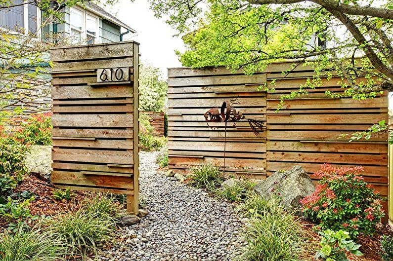 Clôtures en bois : 100 idées de photos
