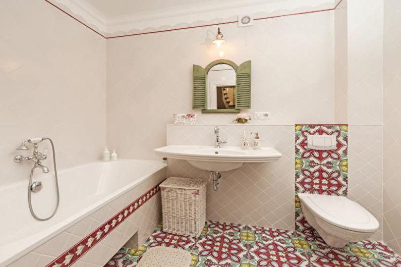 Combinaisons de couleurs de salle de bain : 70 idées